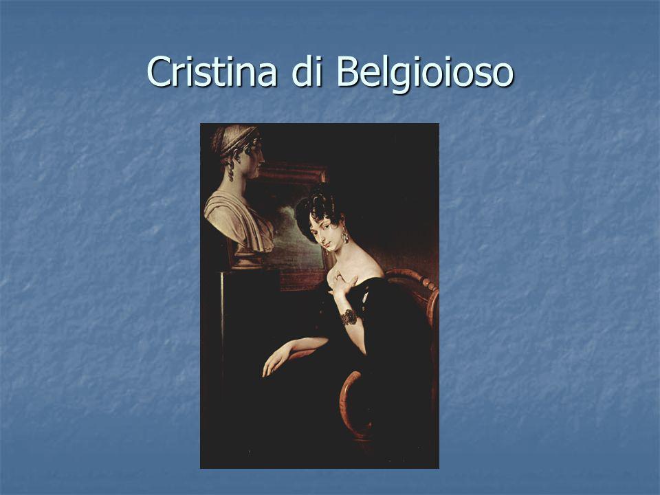 Cristina di Belgioioso