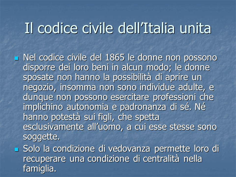 Il codice civile dell'Italia unita