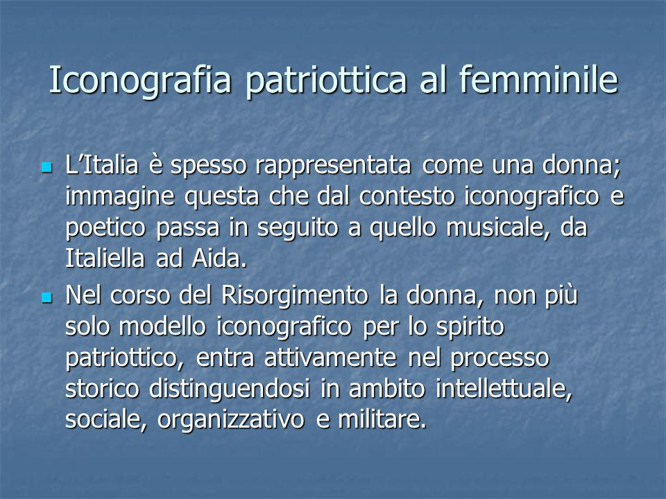 Iconografia patriottica al femminile