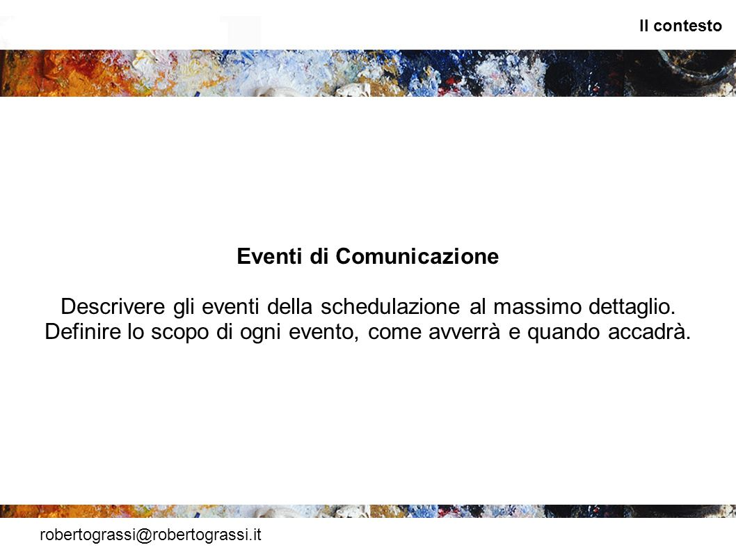 Eventi di Comunicazione