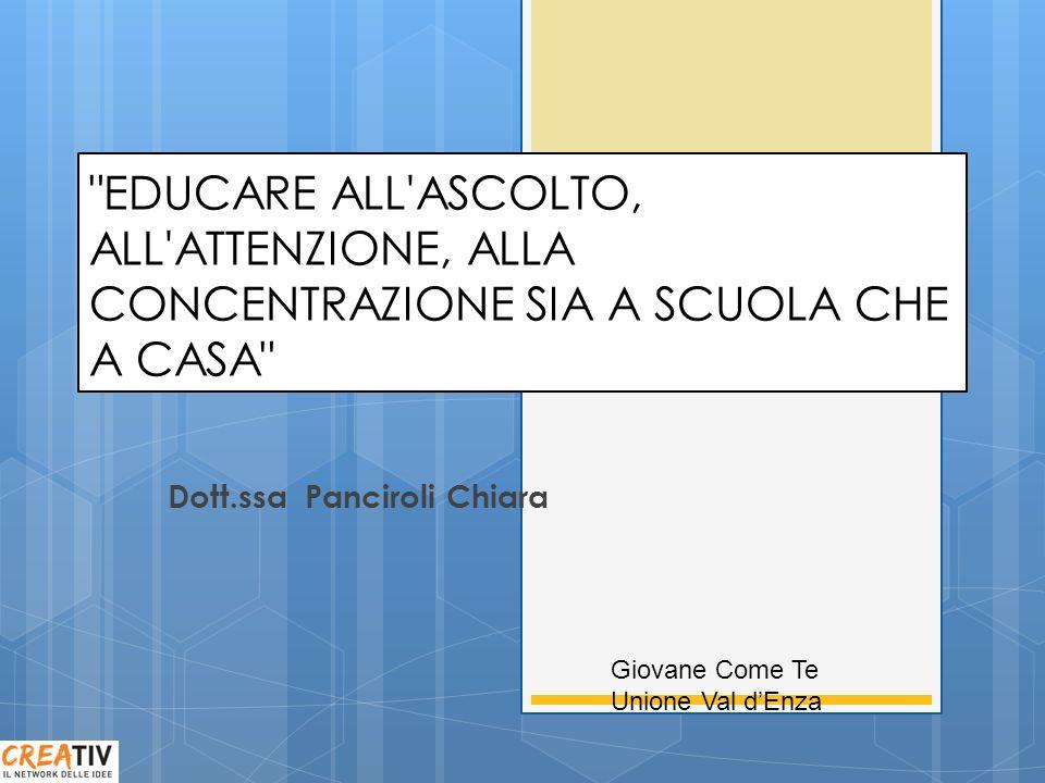 Creativ Giovane Come Te Dott.ssa Panciroli Chiara