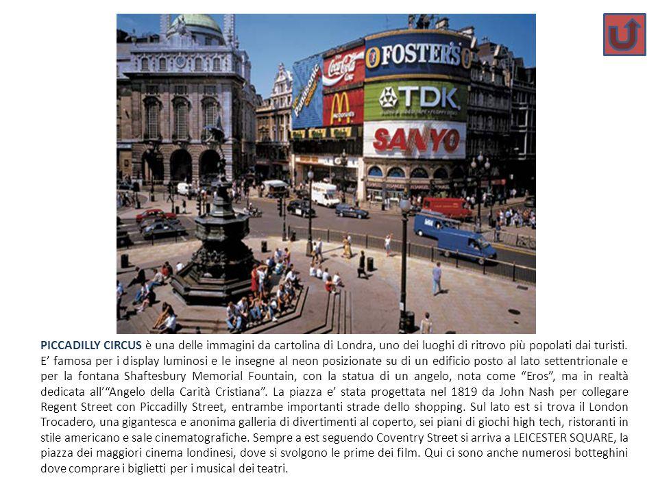 PICCADILLY CIRCUS è una delle immagini da cartolina di Londra, uno dei luoghi di ritrovo più popolati dai turisti.