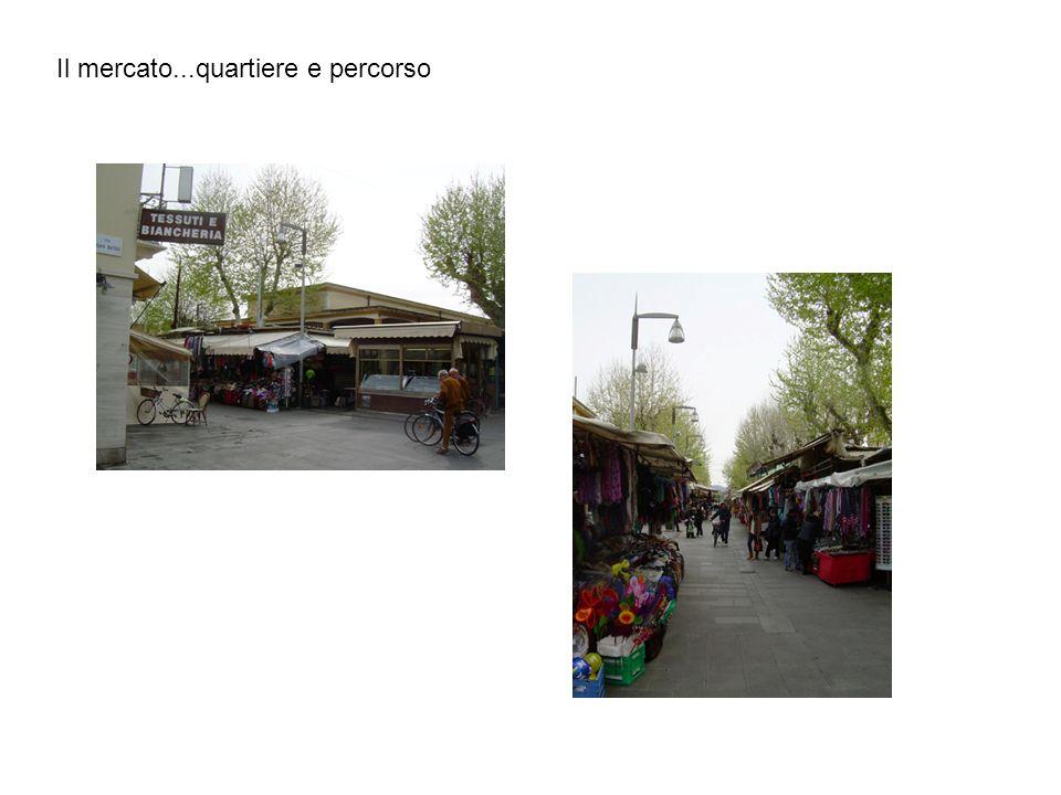 Il mercato...quartiere e percorso