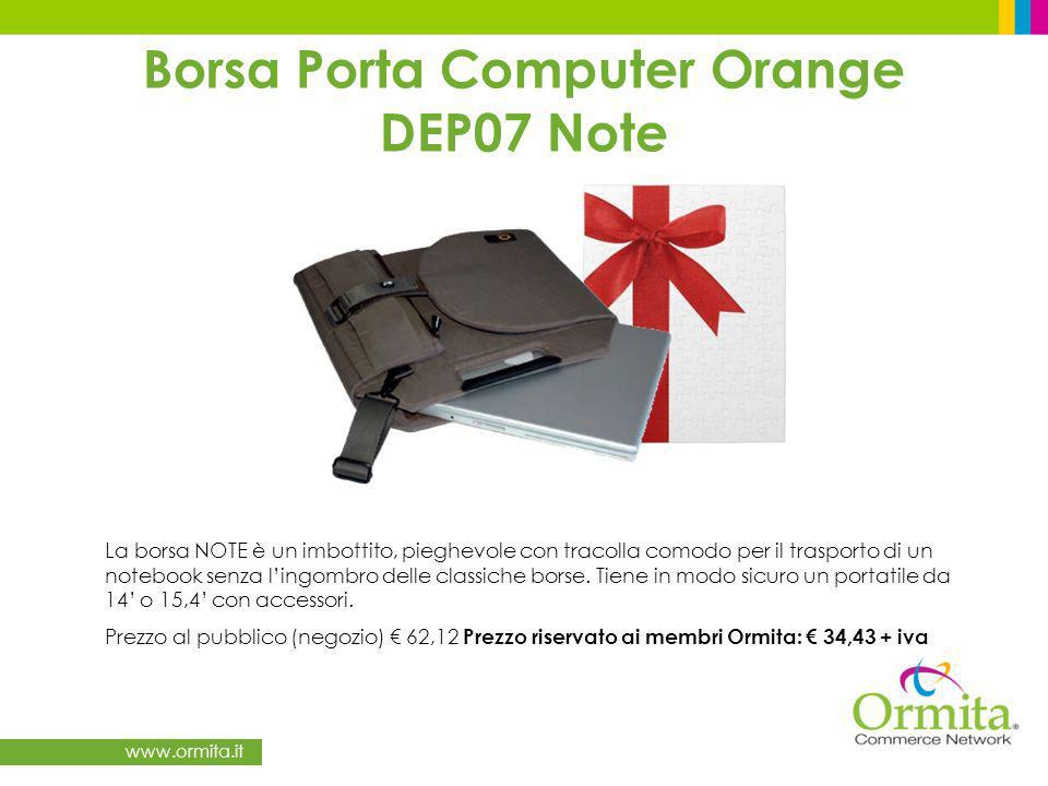 Borsa Porta Computer Orange DEP07 Note