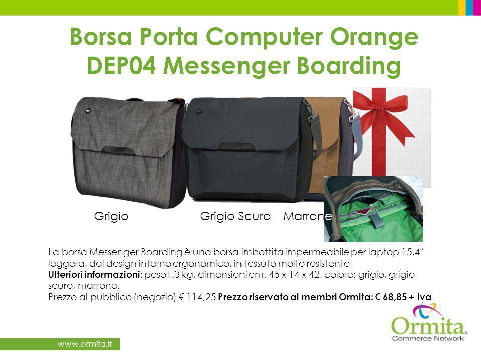 Borsa Porta Computer Orange DEP04 Messenger Boarding