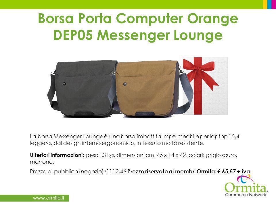 Borsa Porta Computer Orange DEP05 Messenger Lounge