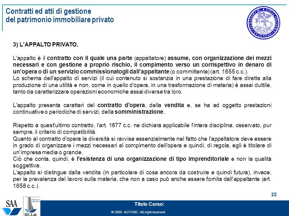 Management del patrimonio immobiliare ppt scaricare - Permuta immobiliare tra privato e impresa ...