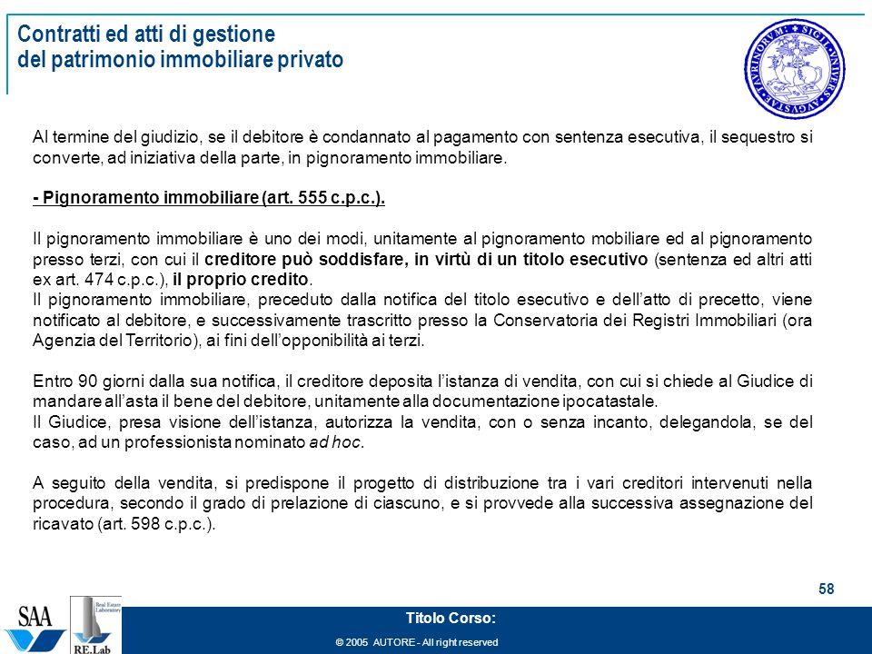 Management del patrimonio immobiliare ppt scaricare for L espropriazione mobiliare presso terzi