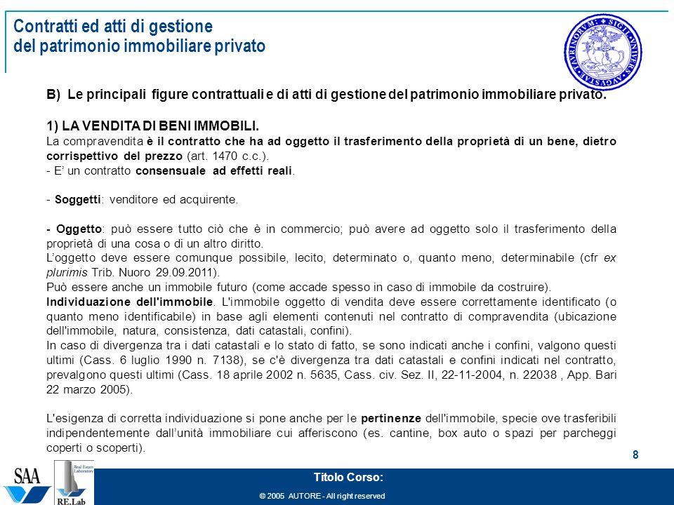 Management del patrimonio immobiliare ppt scaricare - Detrazioni fiscali in caso di vendita immobile ...
