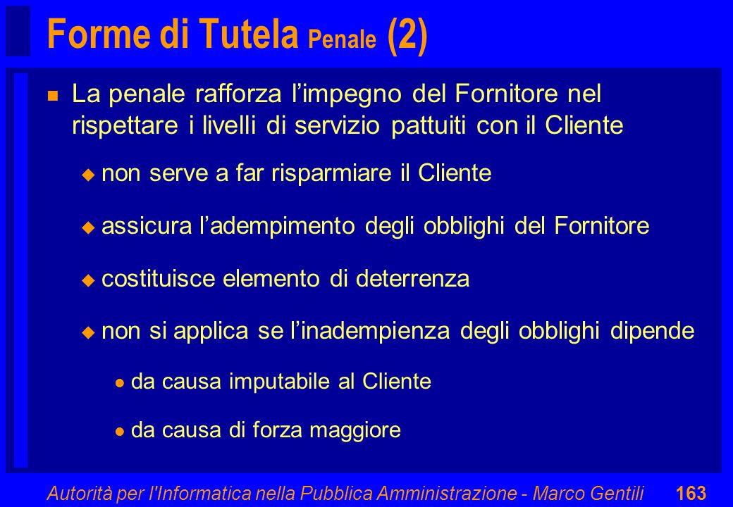 Forme di Tutela Penale (2)