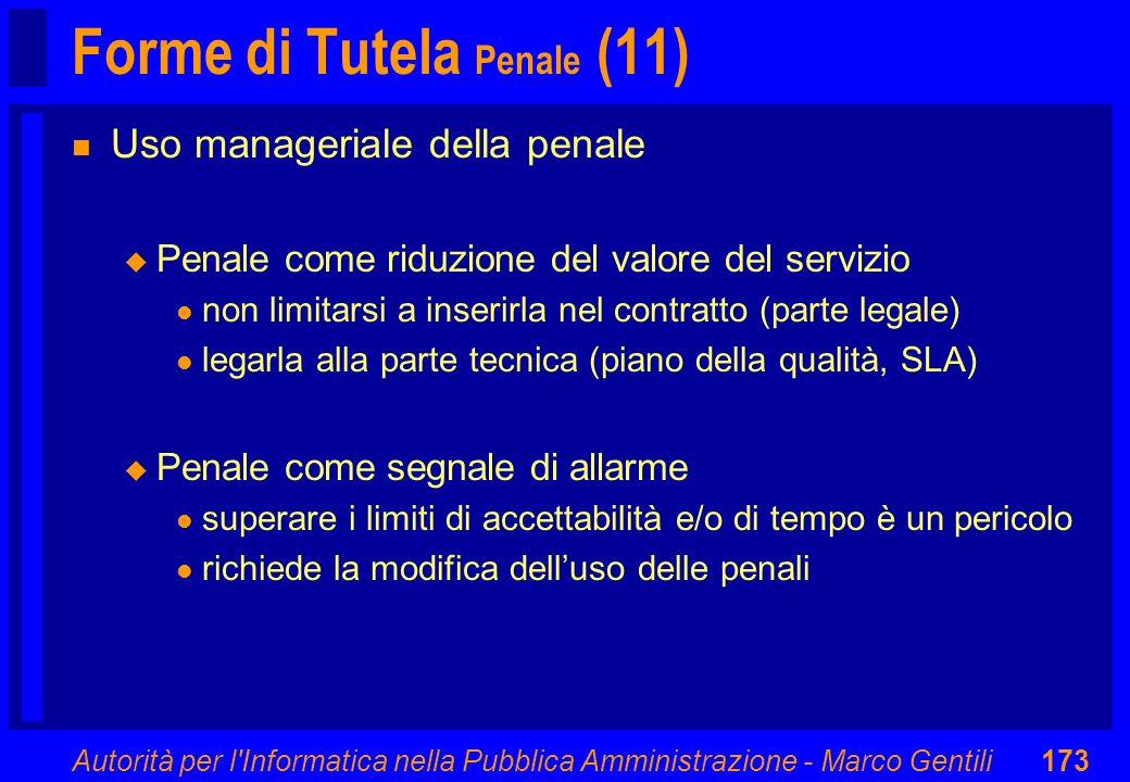 Forme di Tutela Penale (11)