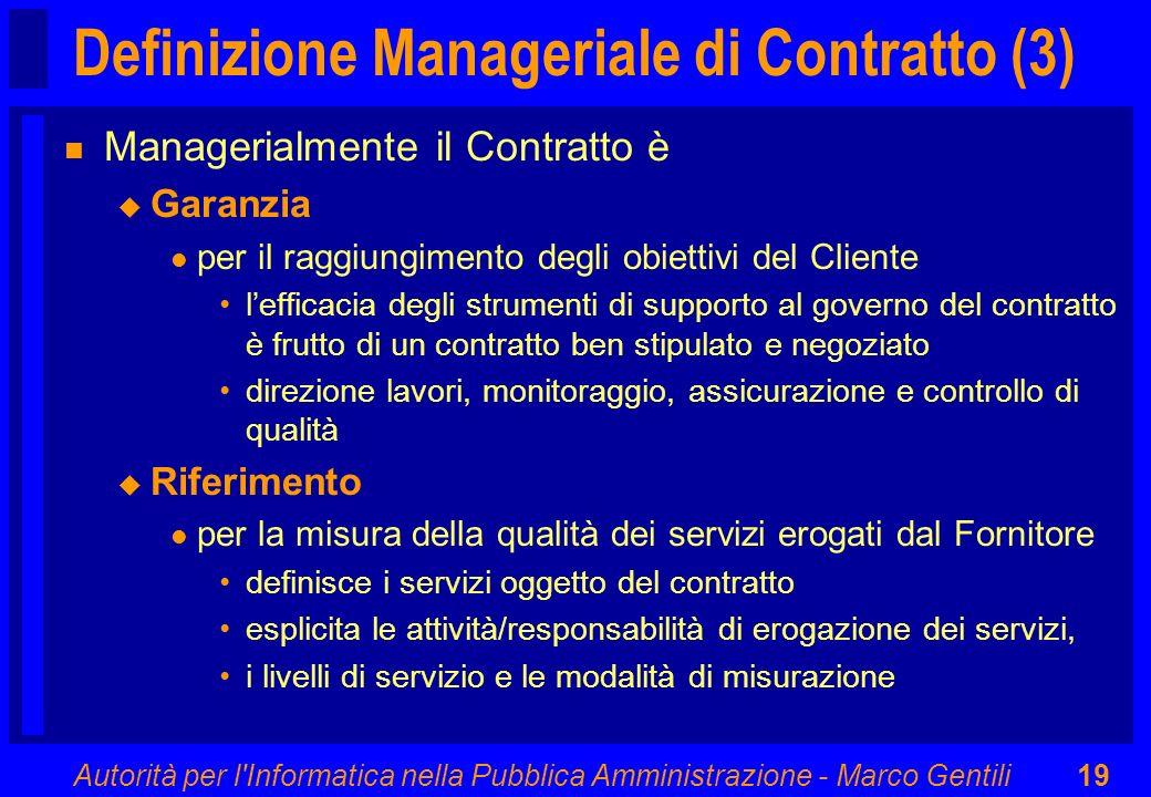Definizione Manageriale di Contratto (3)