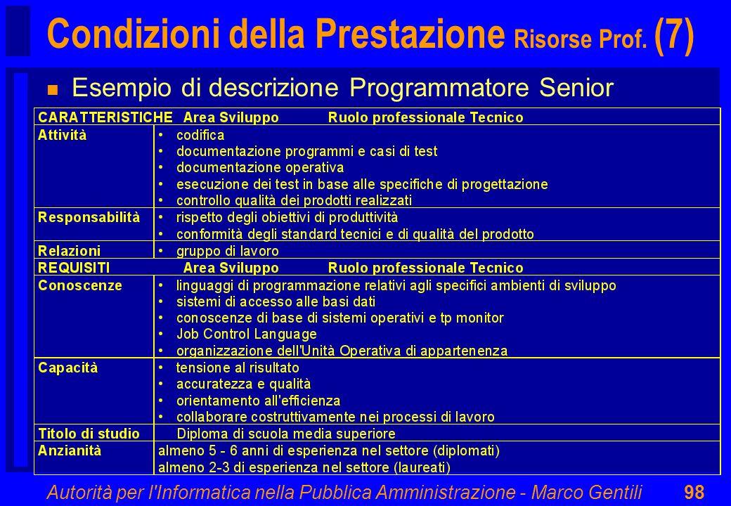 Condizioni della Prestazione Risorse Prof. (7)