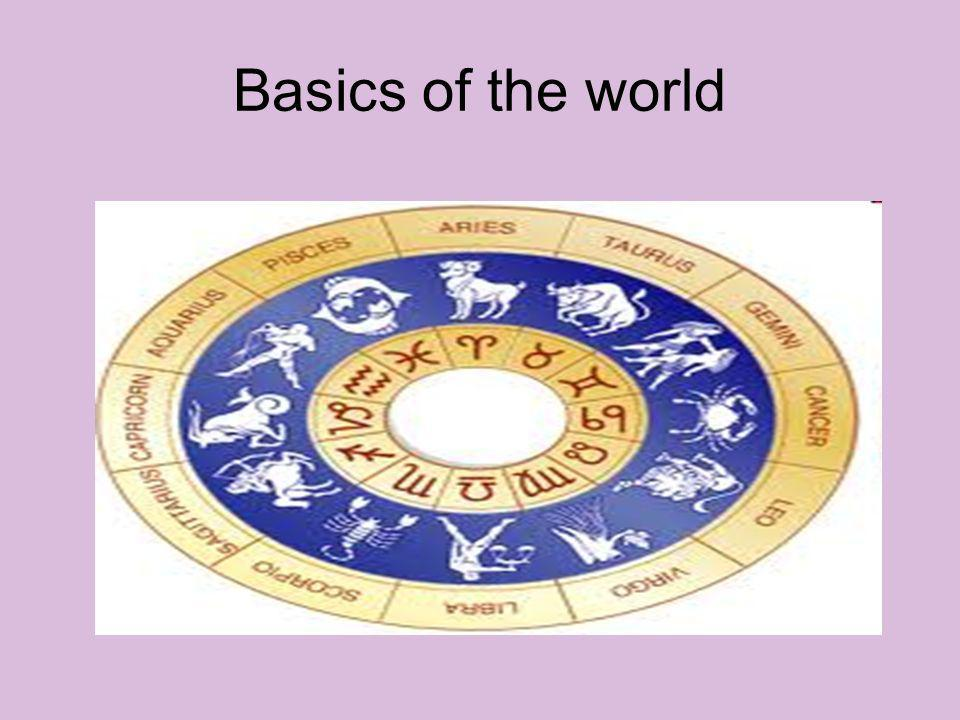 Basics of the world