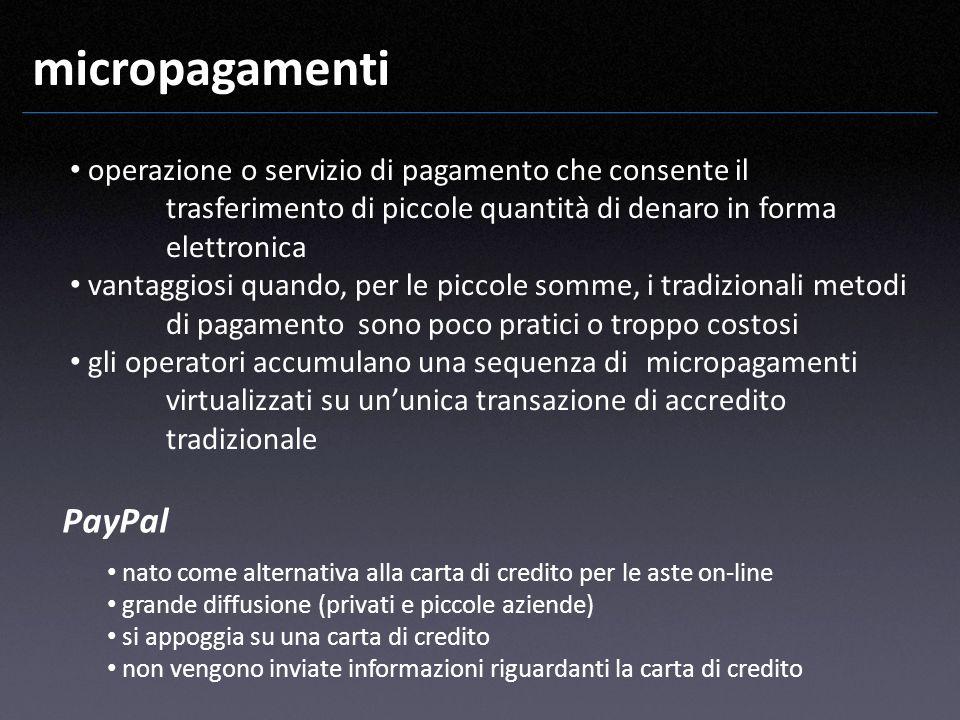 micropagamenti PayPal