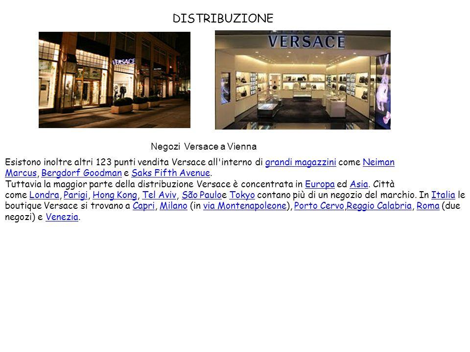 Negozi Versace a Vienna