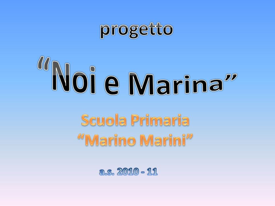 Scuola Primaria Marino Marini