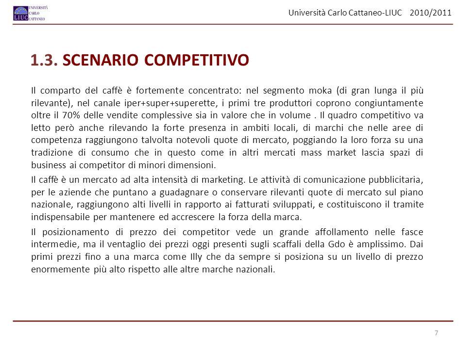 Università Carlo Cattaneo - Liuc 2010/2011