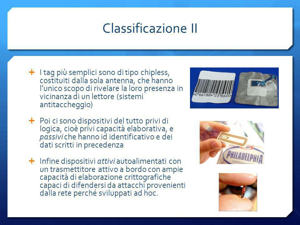 Classificazione II