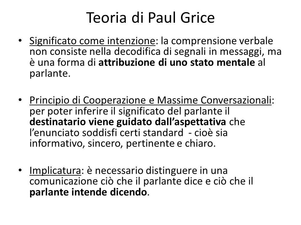 Teoria di Paul Grice