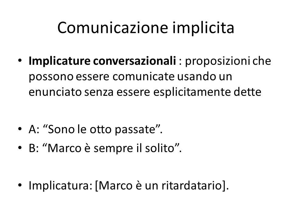 Comunicazione implicita