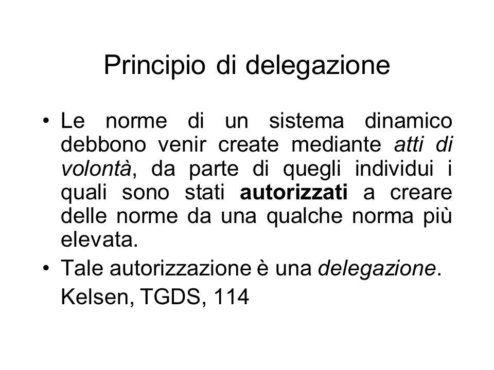 Principio di delegazione
