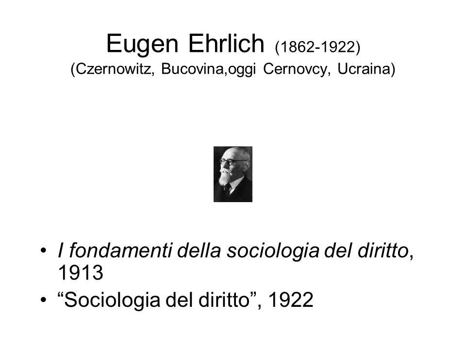 Eugen Ehrlich (1862-1922) (Czernowitz, Bucovina,oggi Cernovcy, Ucraina)