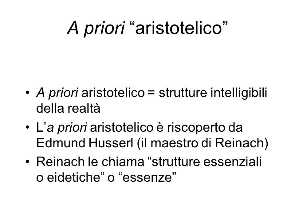 A priori aristotelico