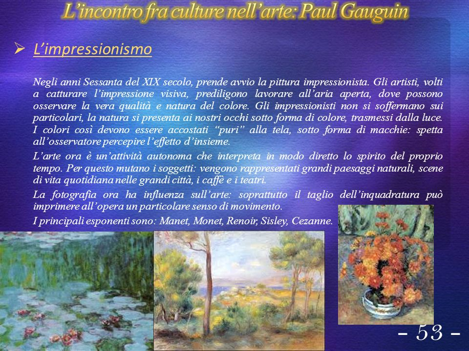 L'incontro fra culture nell'arte: Paul Gauguin