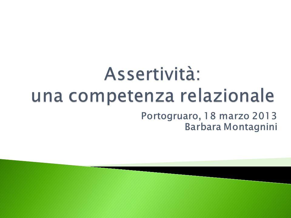 Assertività: una competenza relazionale