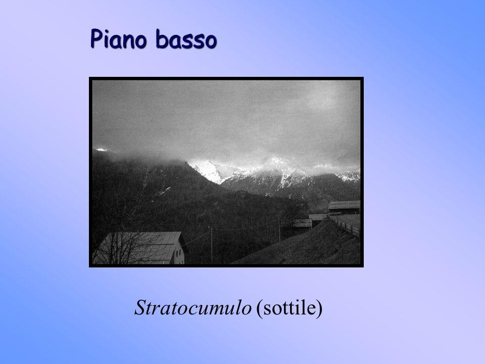 Piano basso Stratocumulo (sottile)