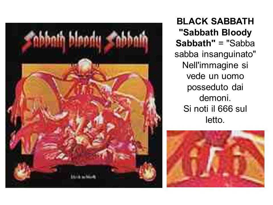 BLACK SABBATH Sabbath Bloody Sabbath = Sabba sabba insanguinato