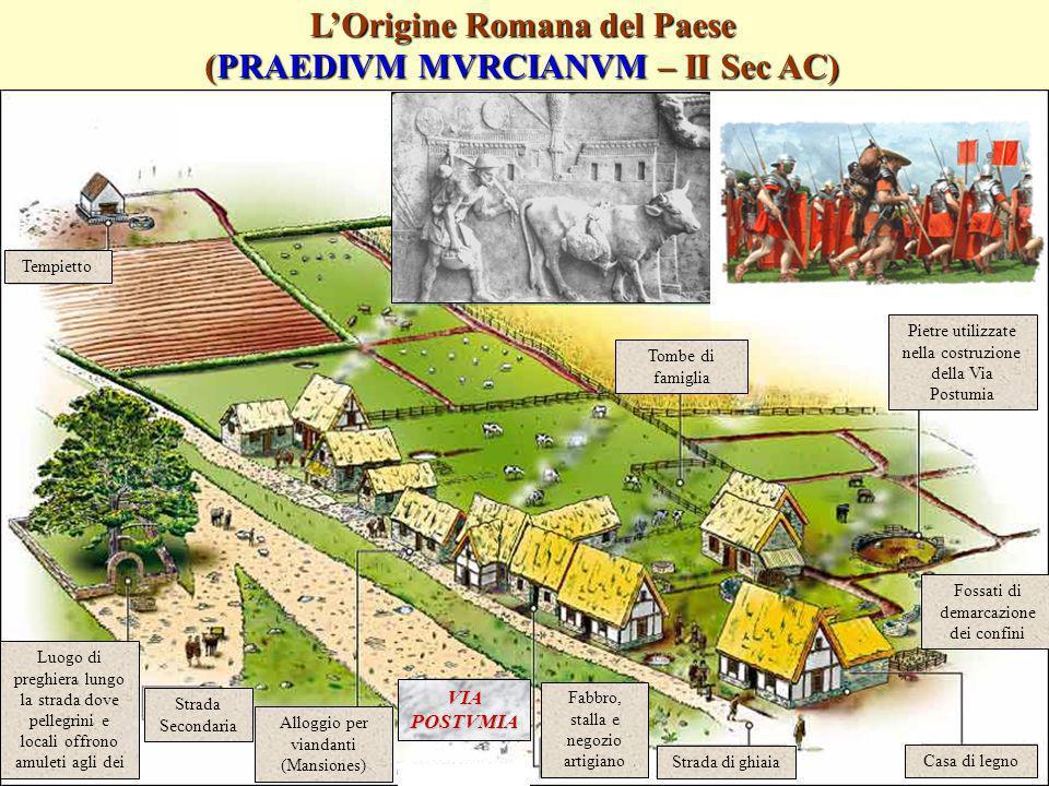 L'Origine Romana del Paese (PRAEDIVM MVRCIANVM – II Sec AC)