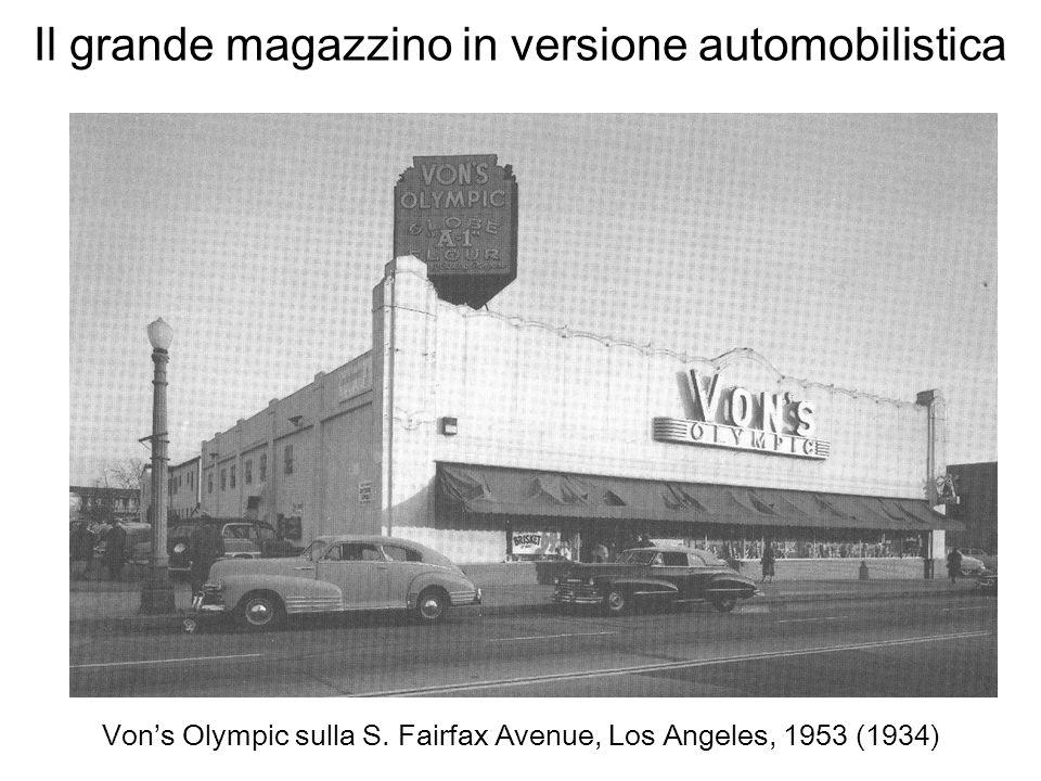 Il grande magazzino in versione automobilistica