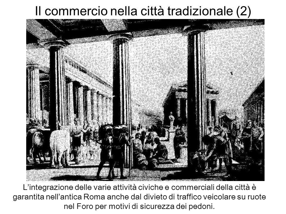 Il commercio nella città tradizionale (2)