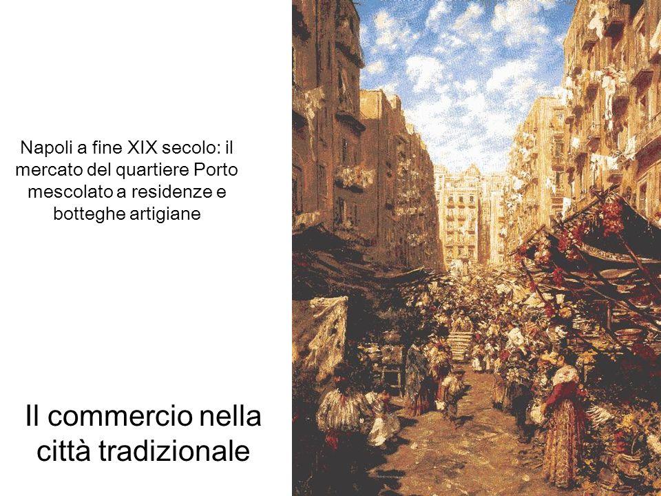 Il commercio nella città tradizionale