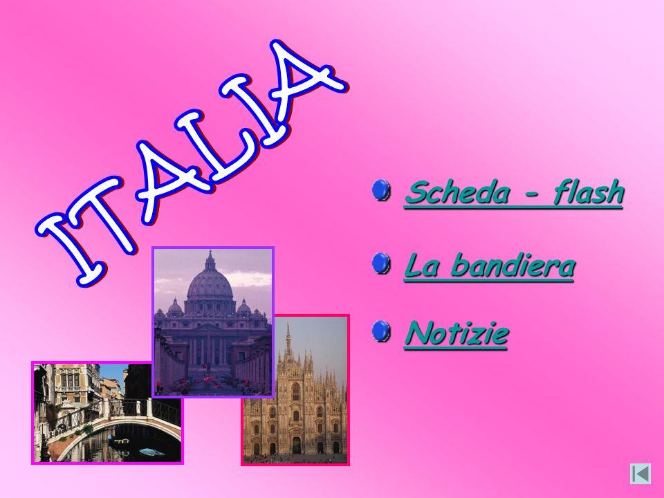 ITALIA Scheda - flash La bandiera Notizie