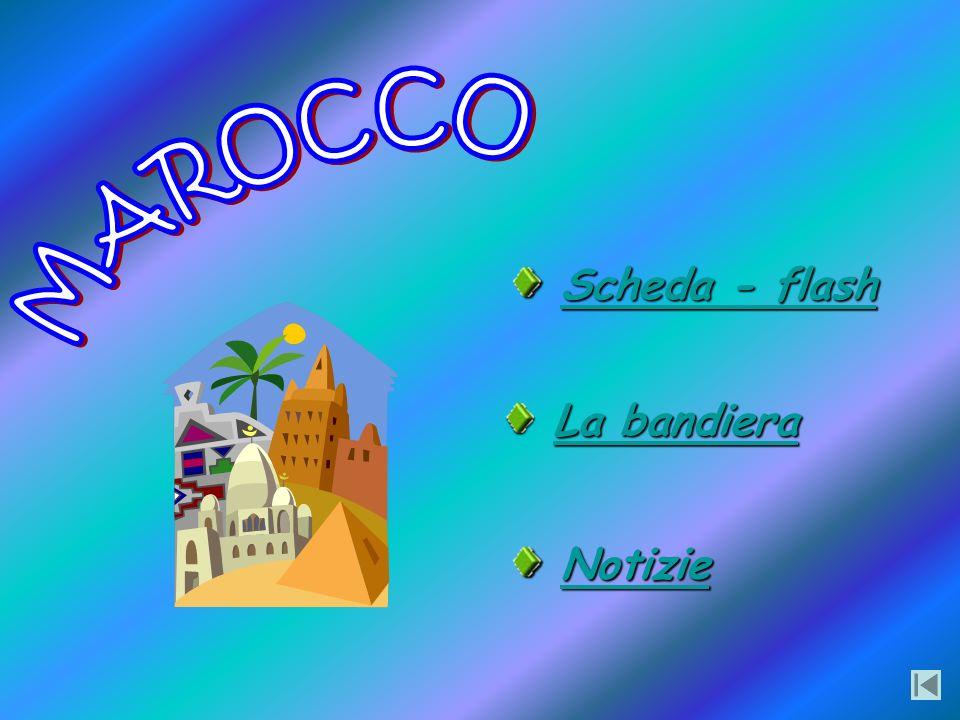 MAROCCO Scheda - flash La bandiera Notizie