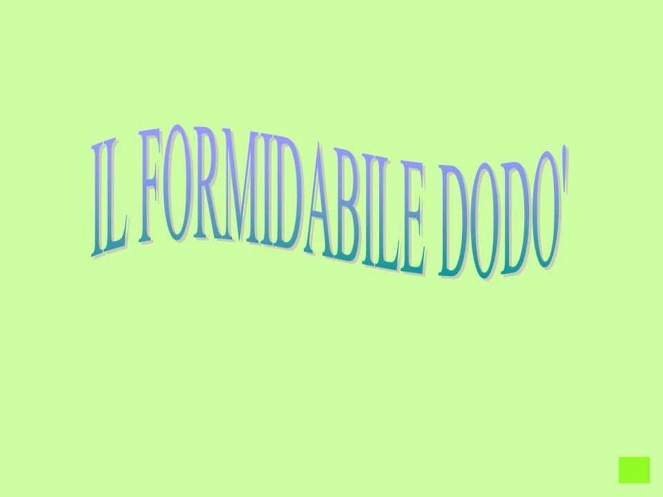 IL FORMIDABILE DODO