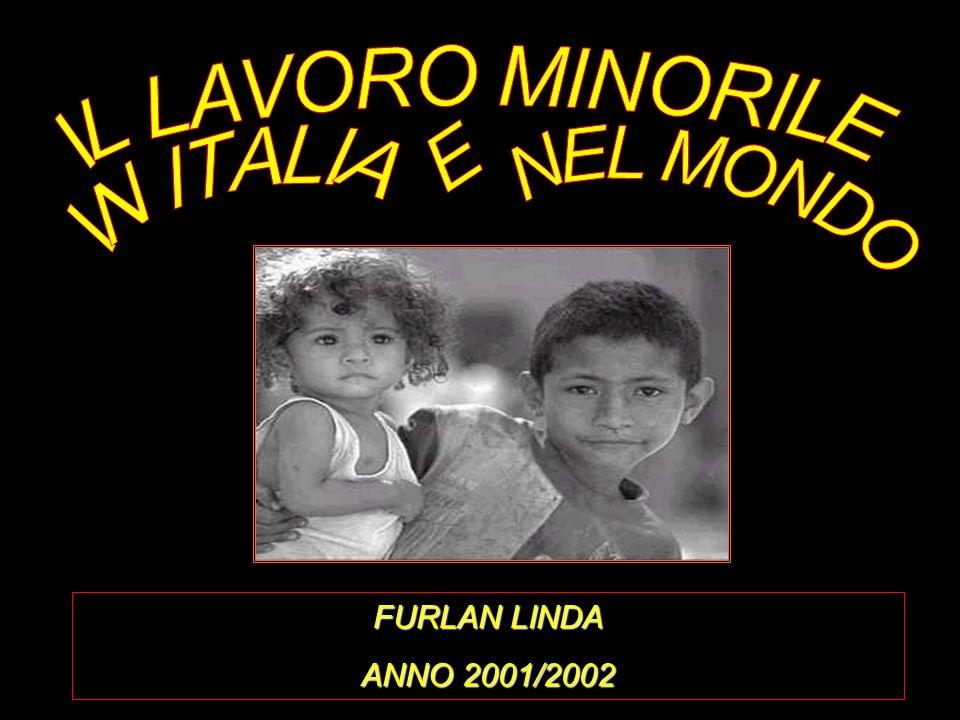 IL LAVORO MINORILE E IN ITALIA NEL MONDO FURLAN LINDA ANNO 2001/2002