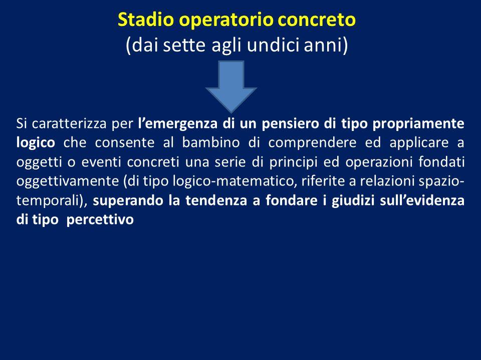 Stadio operatorio concreto