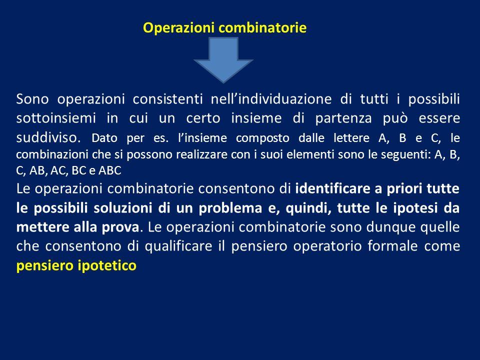 Operazioni combinatorie