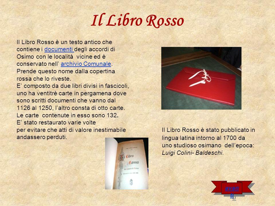 Il Libro Rosso Il Libro Rosso è un testo antico che