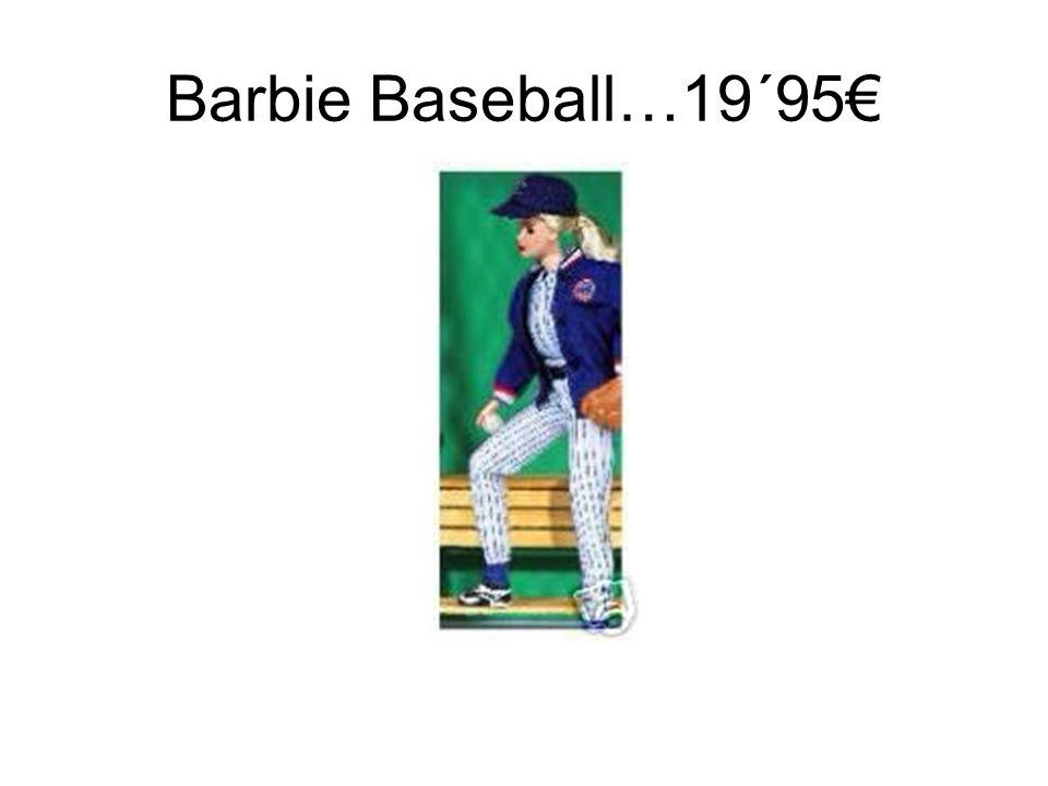 Barbie Baseball…19´95€
