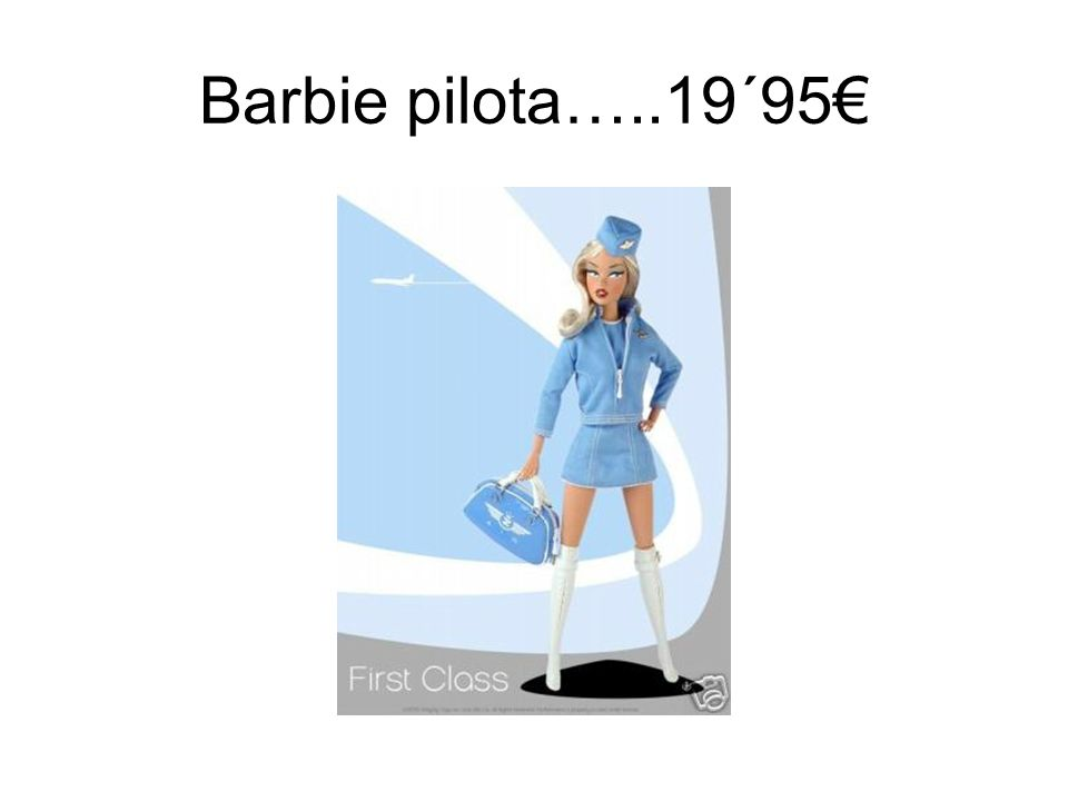 Barbie pilota…..19´95€