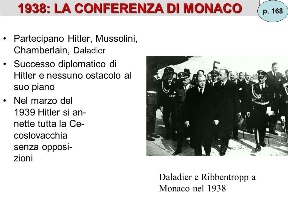1938: LA CONFERENZA DI MONACO