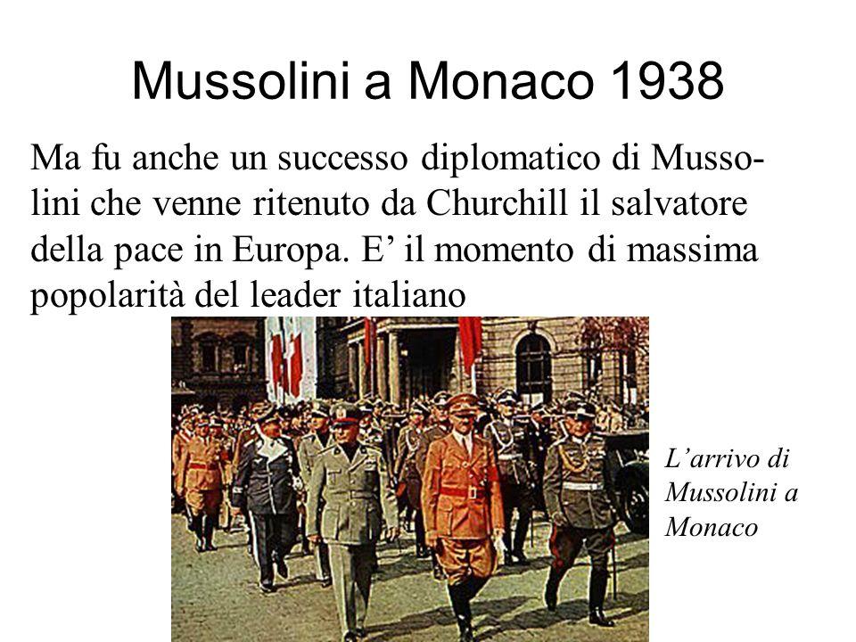 Mussolini a Monaco 1938