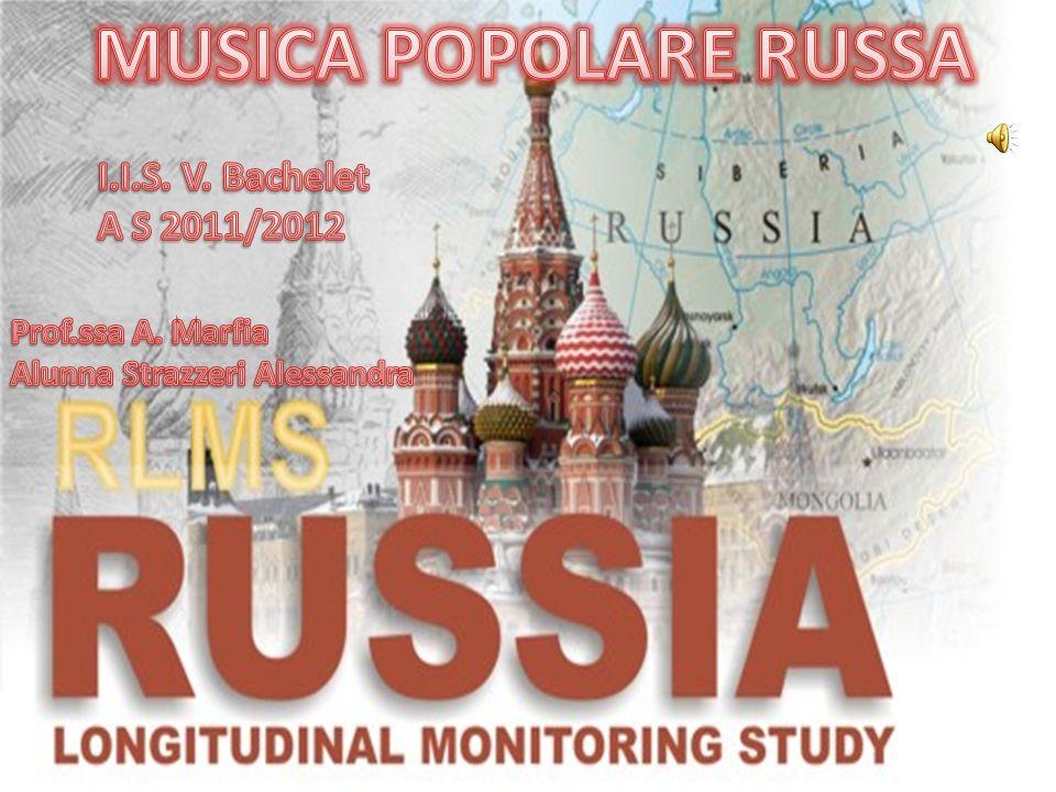 MUSICA POPOLARE RUSSA I.I.S. V. Bachelet A S 2011/2012