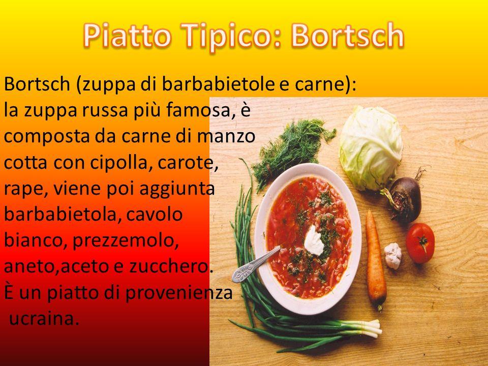 Piatto Tipico: Bortsch