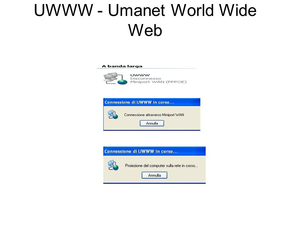 UWWW - Umanet World Wide Web